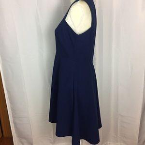 Banana Republic Dresses - Banana Republic blue dress racerback exposed zip